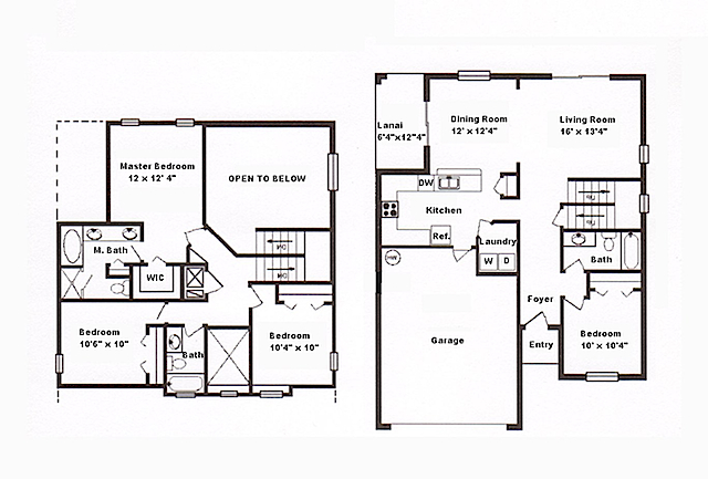Floor plan affordable orlando vacation home Home layout